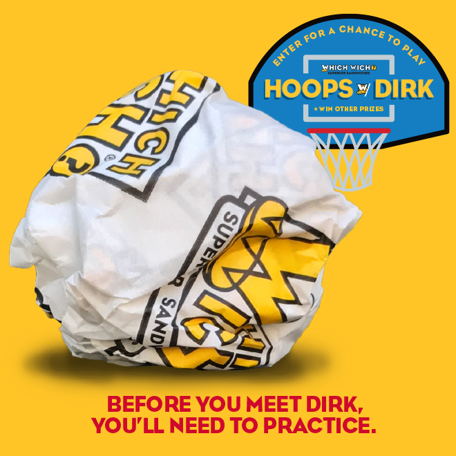 Hoops with Dirk! Enter for a chance to win!