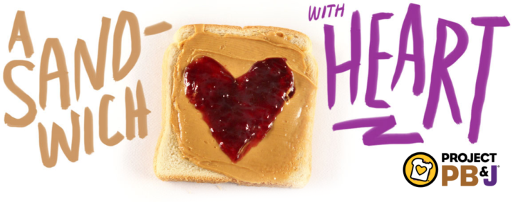 Project PB&J | Sandwich with heart!