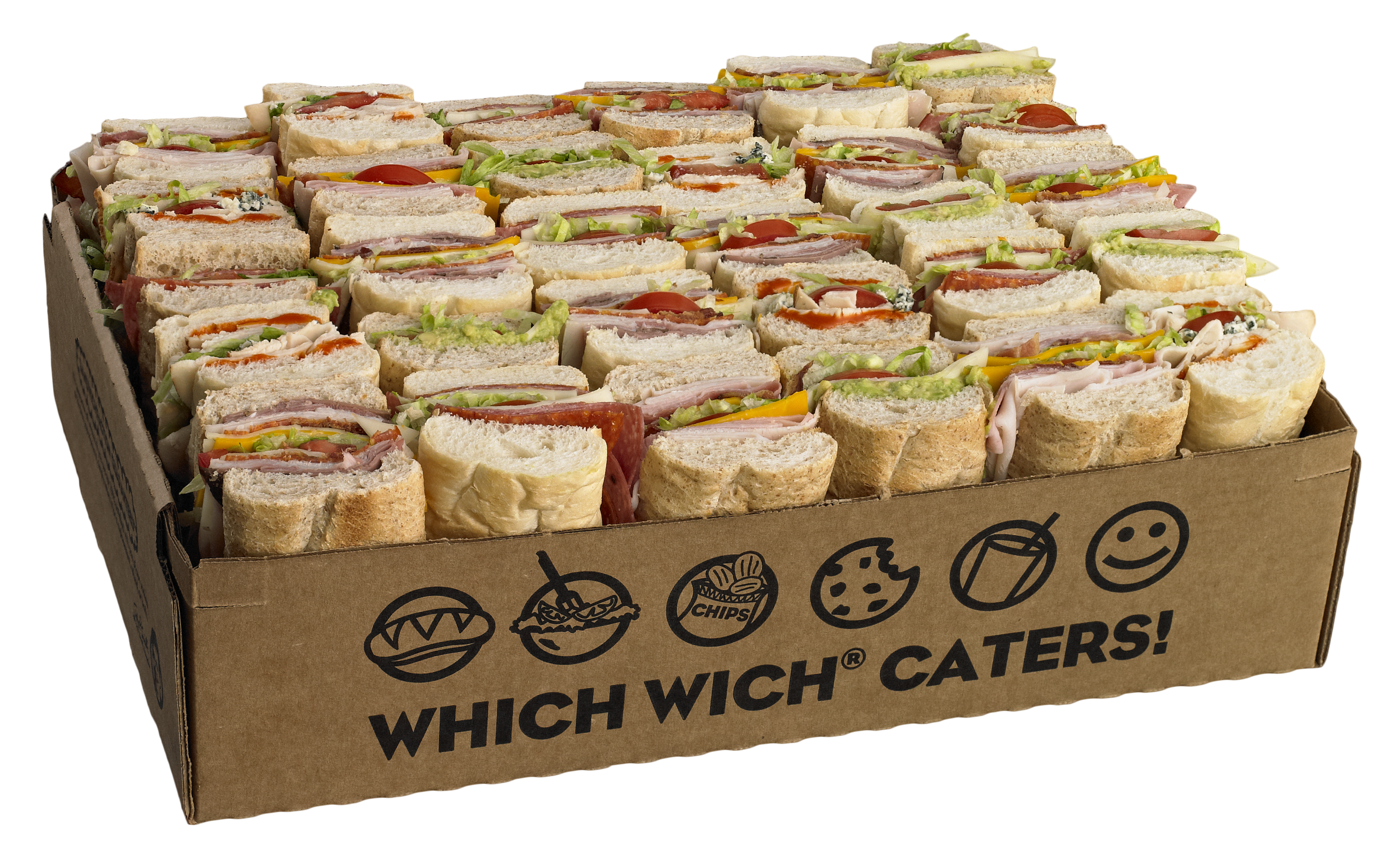 Which Wich® Catering Menu | Which Wich Superior Sandwiches