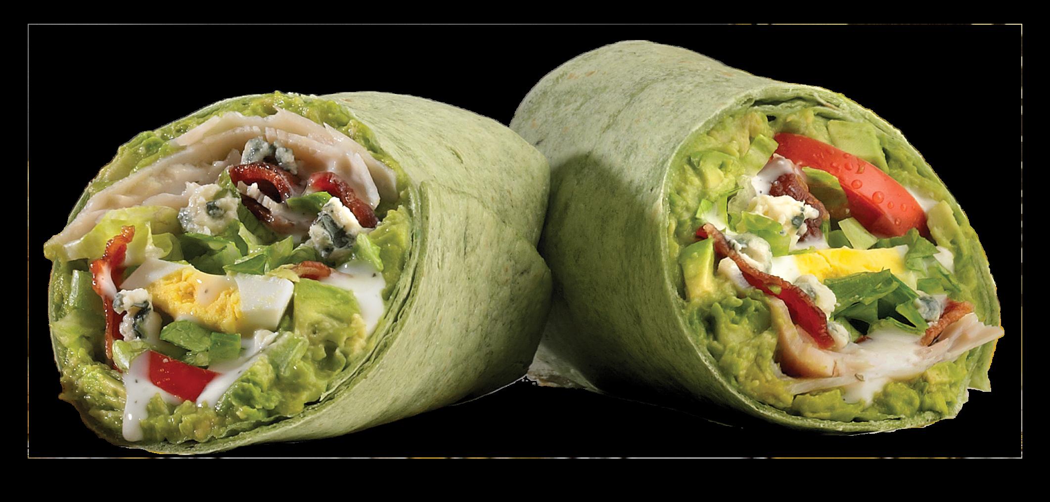 which wich cobb salad spinach wrap