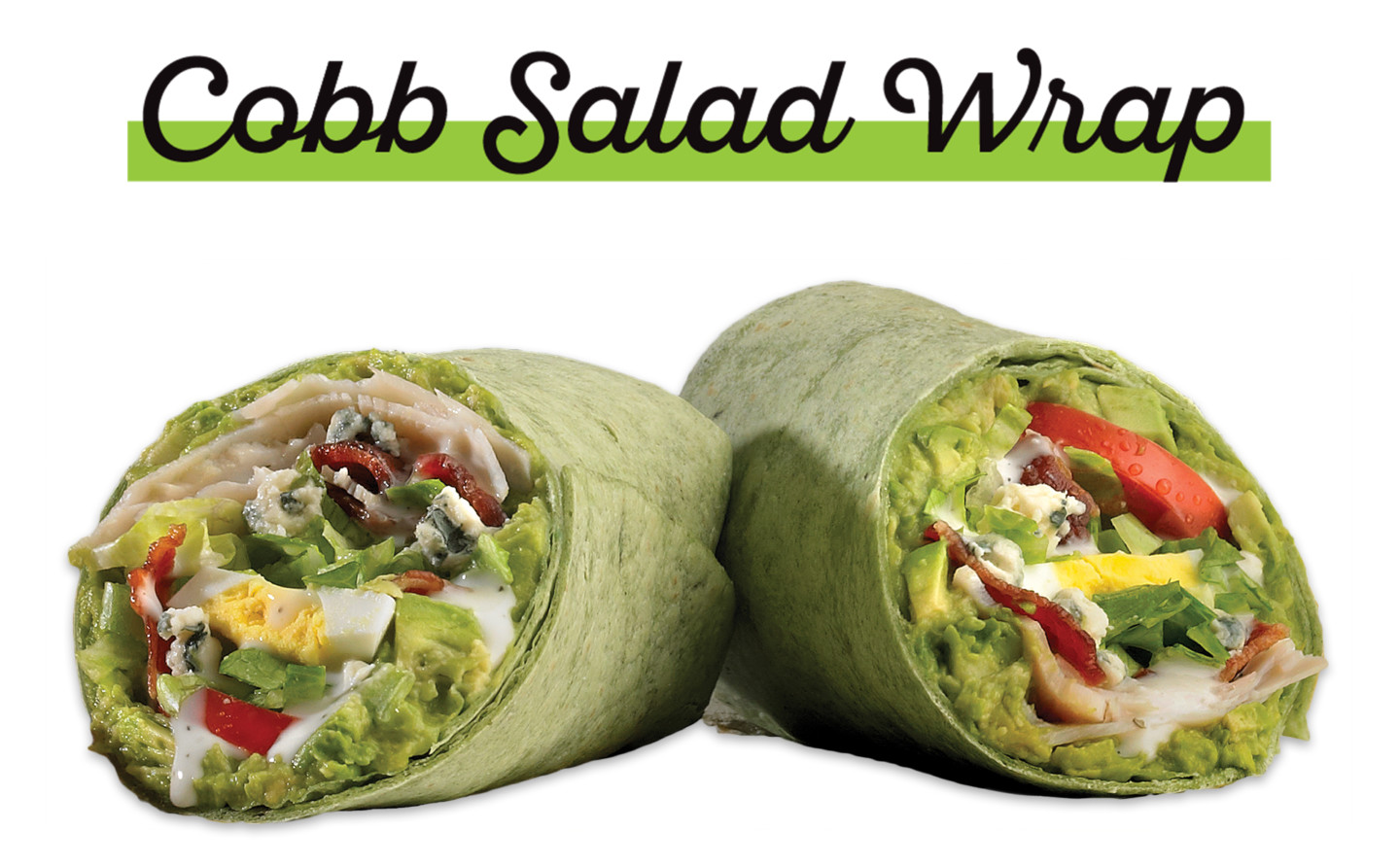 Which wich cobb salad wrap