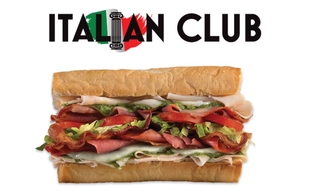 which wich italian club sandwich
