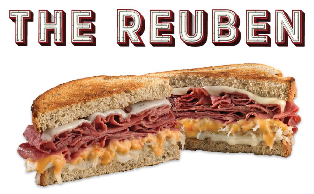 Which wich the reuben sandwich