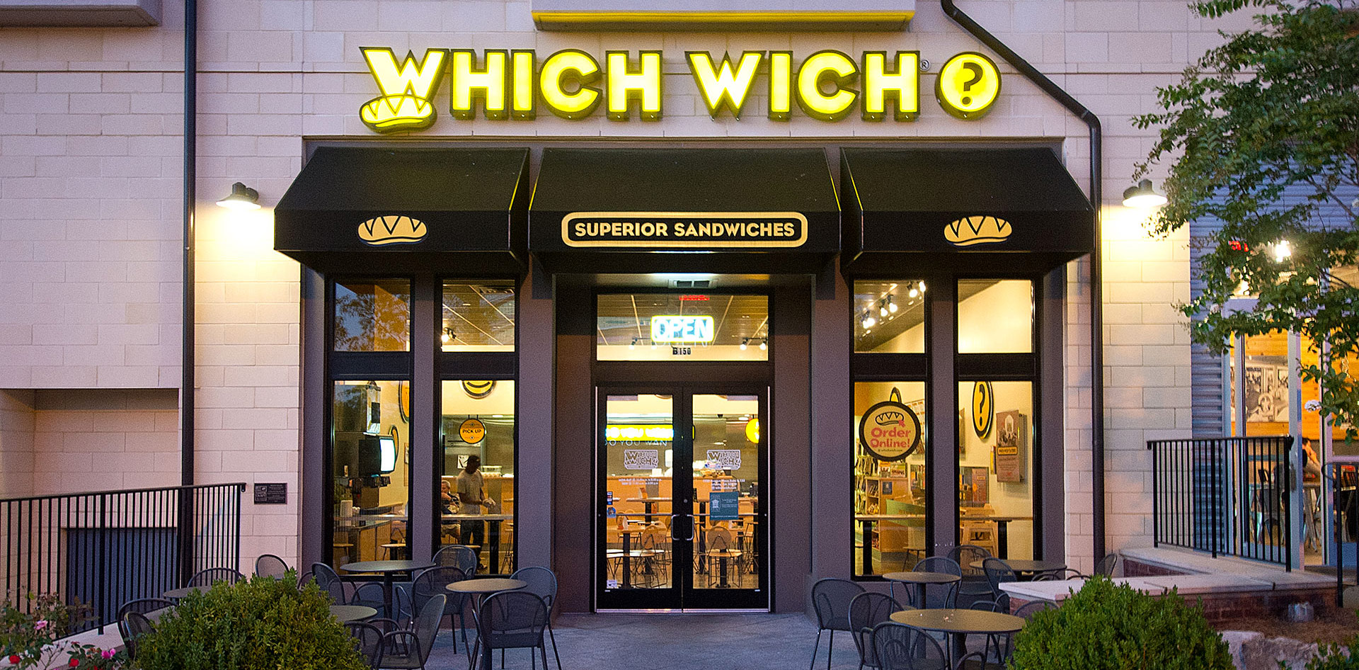 which wich store locations which wich superior sandwiches