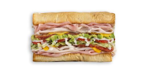 Which Wich Club Sandwich