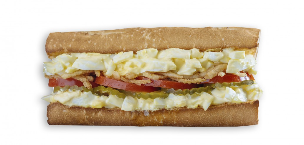Which Wich Egg Salad Sandwich