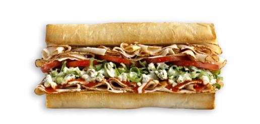 Which Wich Buffalo Chicken Sandwich