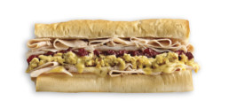 Which Wich Thank you Turkey Sandwich