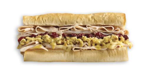 Which Wich Thank you Turkey Sandwich
