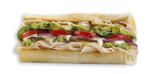 Which Wich Turkey Sandwich