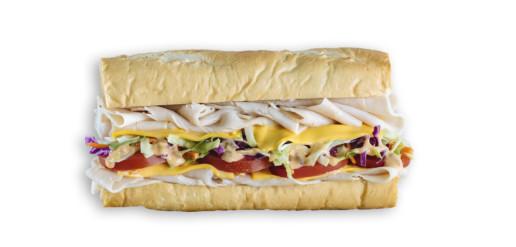 Which Wich Turkeywich Sandwich
