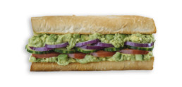 Which Wich Avocado Sandwich