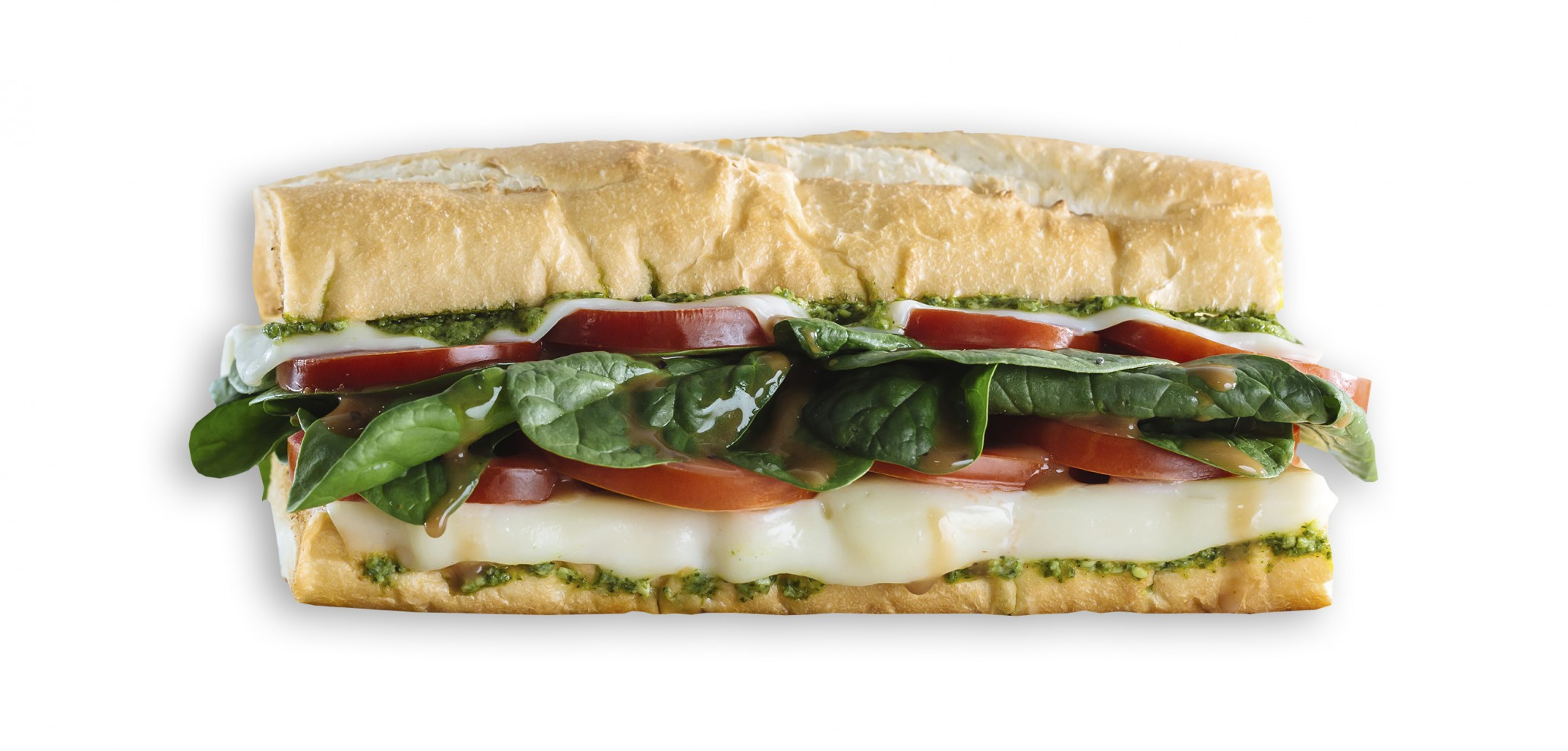 Which Wich Caprese Sandwich