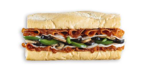 Which Wich Pepperoni Pizzawich Sandwich