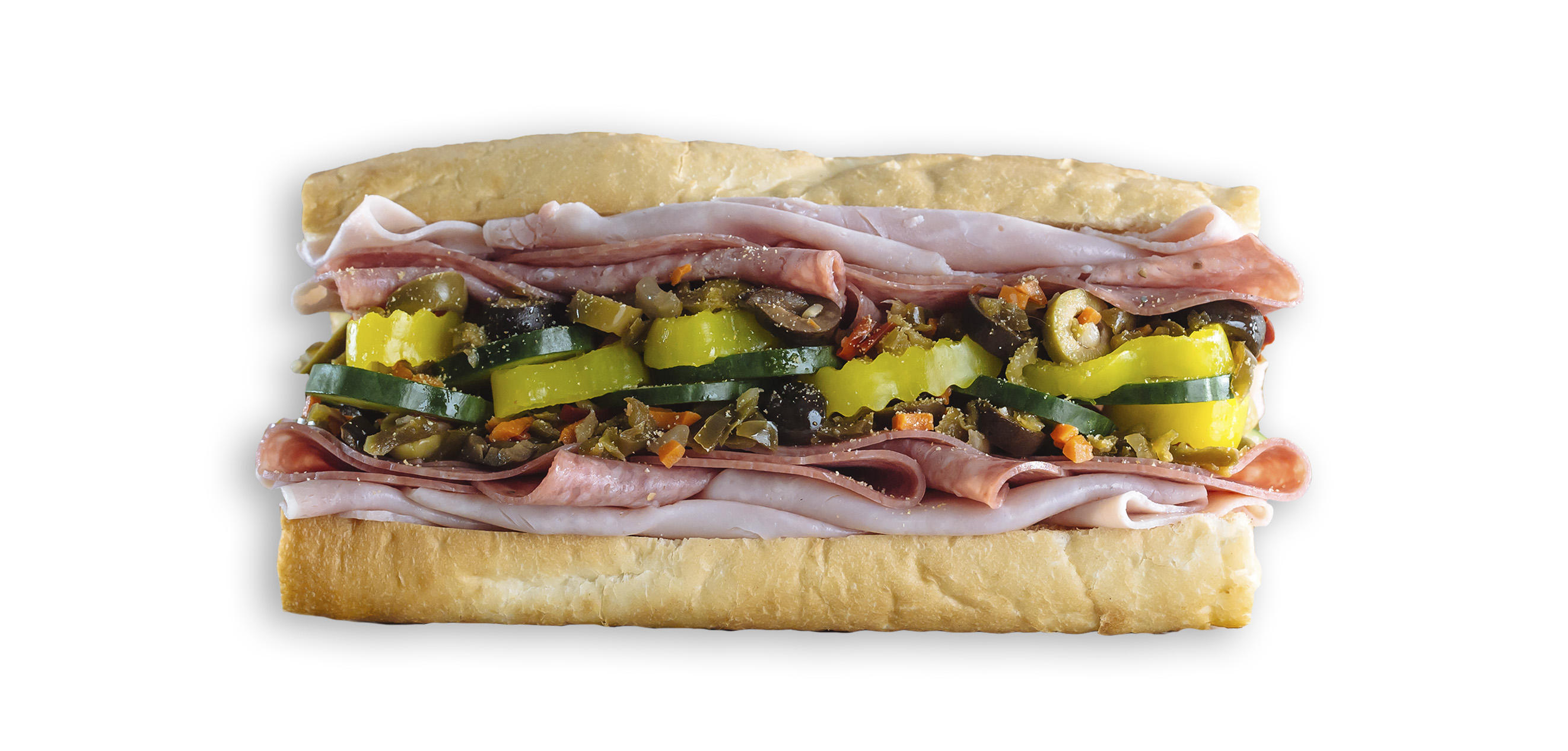 Which Wich Muffuletta Sandwich