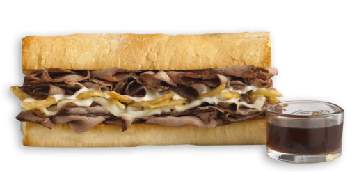 Which Wich French Dip Sandwich