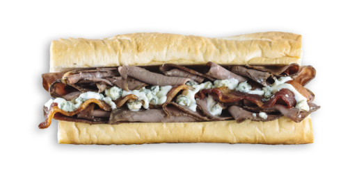 Which Wich Roast Beef Sandwich