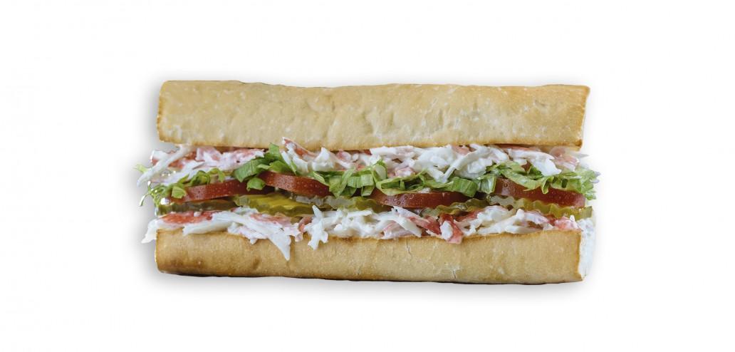 Which Wich Krab Salad Sandwich