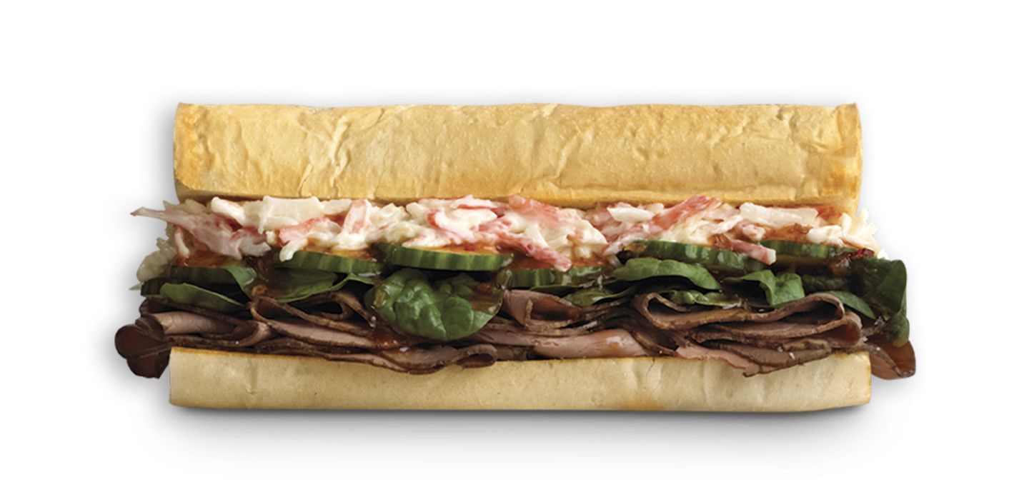 Which Wich Surf and Turf Sandwich