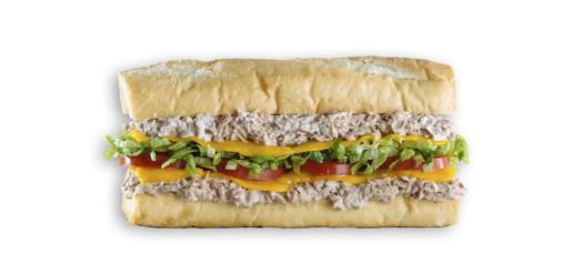 Which Wich Tuna Salad Sandwich