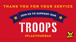 Flag Your Bag | Thank You For Your Service