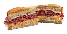 The Reuben on Rye