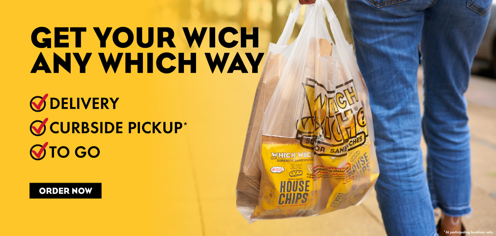 Get your wich any which way!