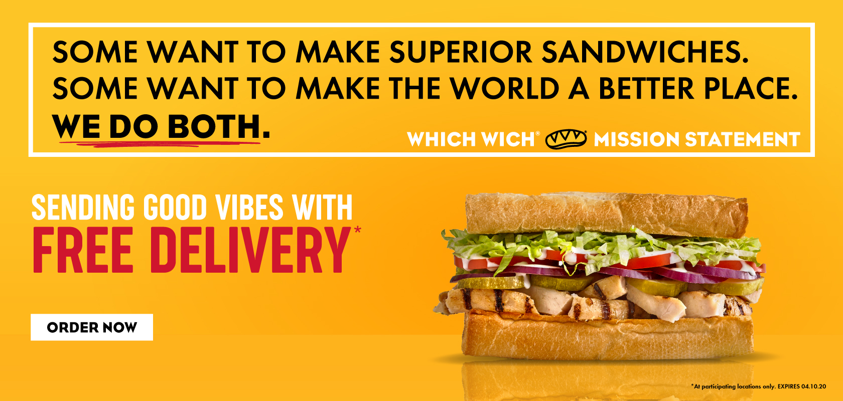 Free Delivery and Good Vibes!